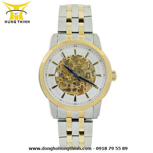 Đồng hồ nam dây thép không gỉ Olym Pianus OP990-15AMSK
