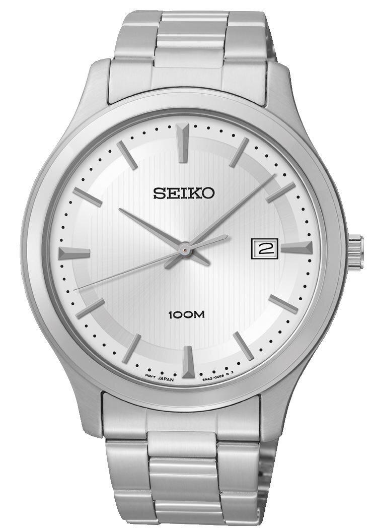 Đồng hồ nam dây thép không gỉ Seiko Quartz SUR047P1/ SUR053P1/ SUR054P1