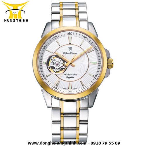 Đồng hồ nam dây thép không gỉ Olym Pianus 082AMSK