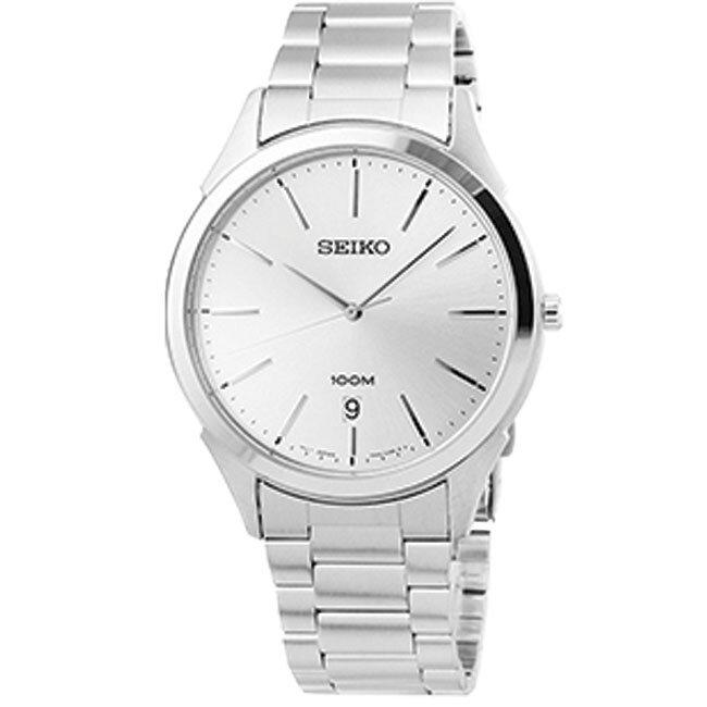 Đồng hồ nam dây thép không gỉ Seiko Quartz SGEG67P1/ SGEG69P1/ SGEG71P1