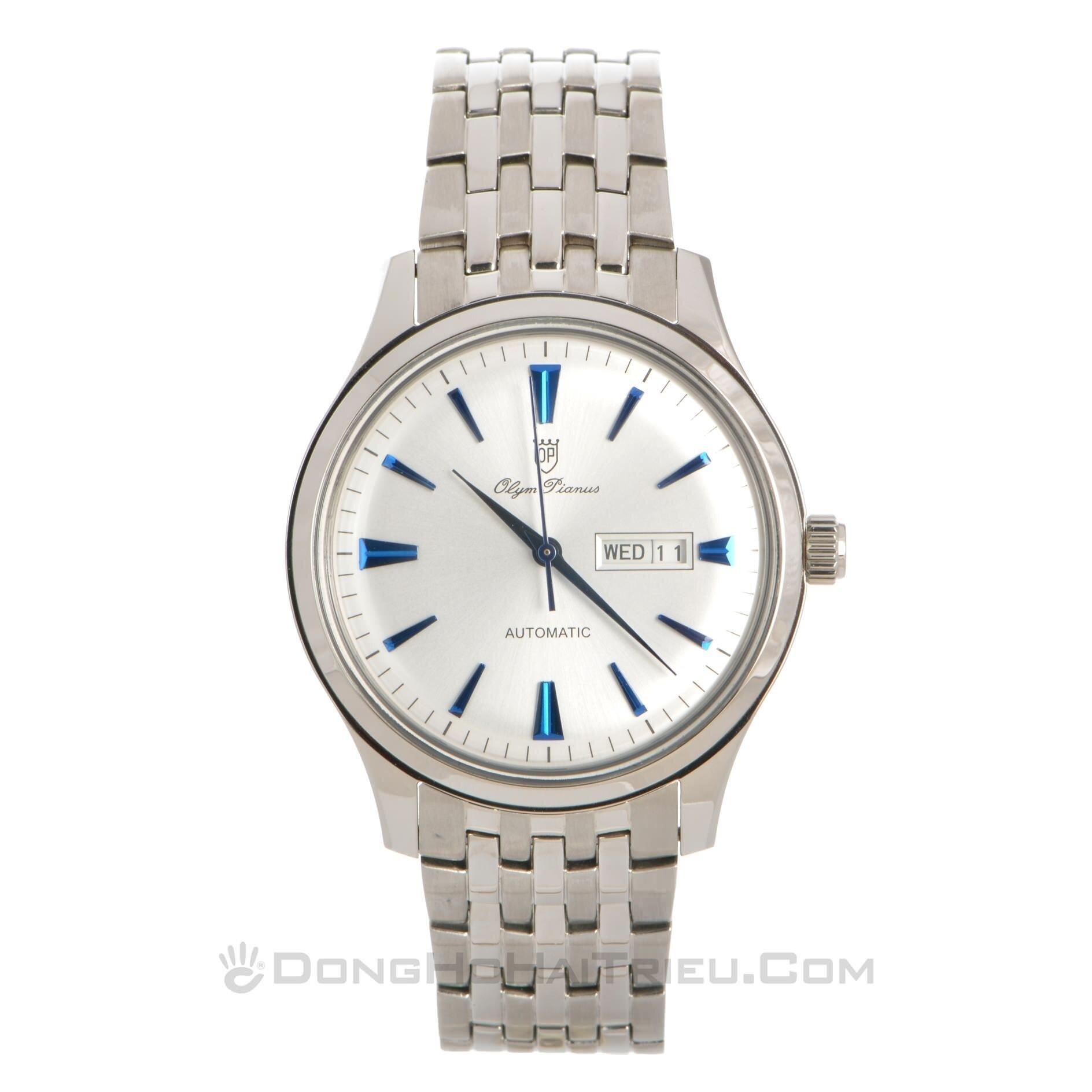 Đồng hồ nam dây thép không gỉ Olym Pianus OP990-14AMS