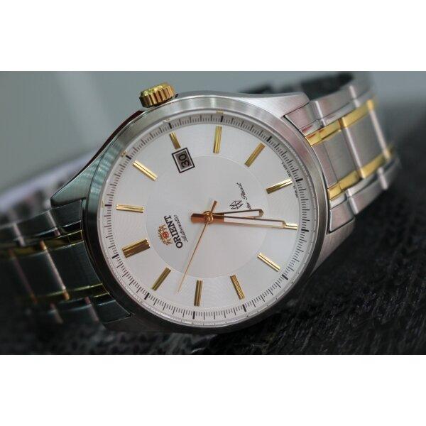 Đồng hồ nam dây thép không gỉ ORIENT SER2C00AW0