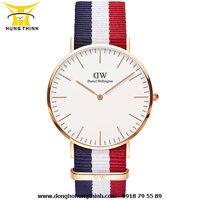 Đồng hồ nam dây vải Daniel Wellington DW00100003