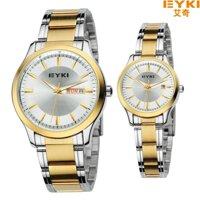 Đồng hồ nam Eyki lịch lãm màu vàng-EY001