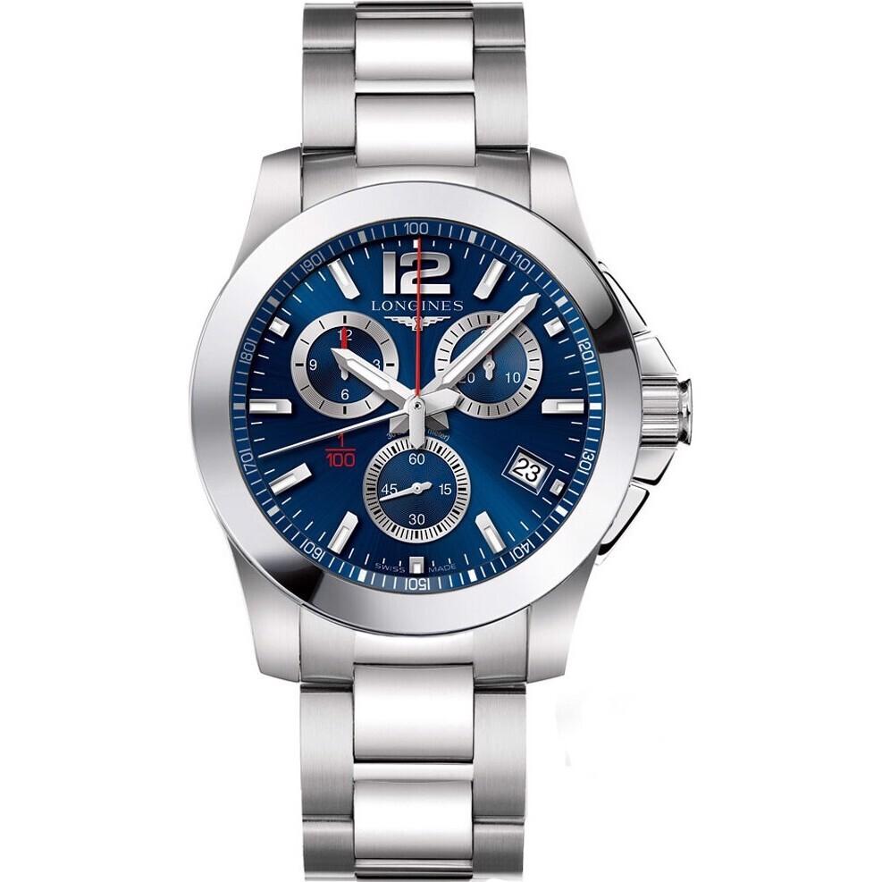 Đồng hồ nam Longines Conquest L3.700.4.96.6