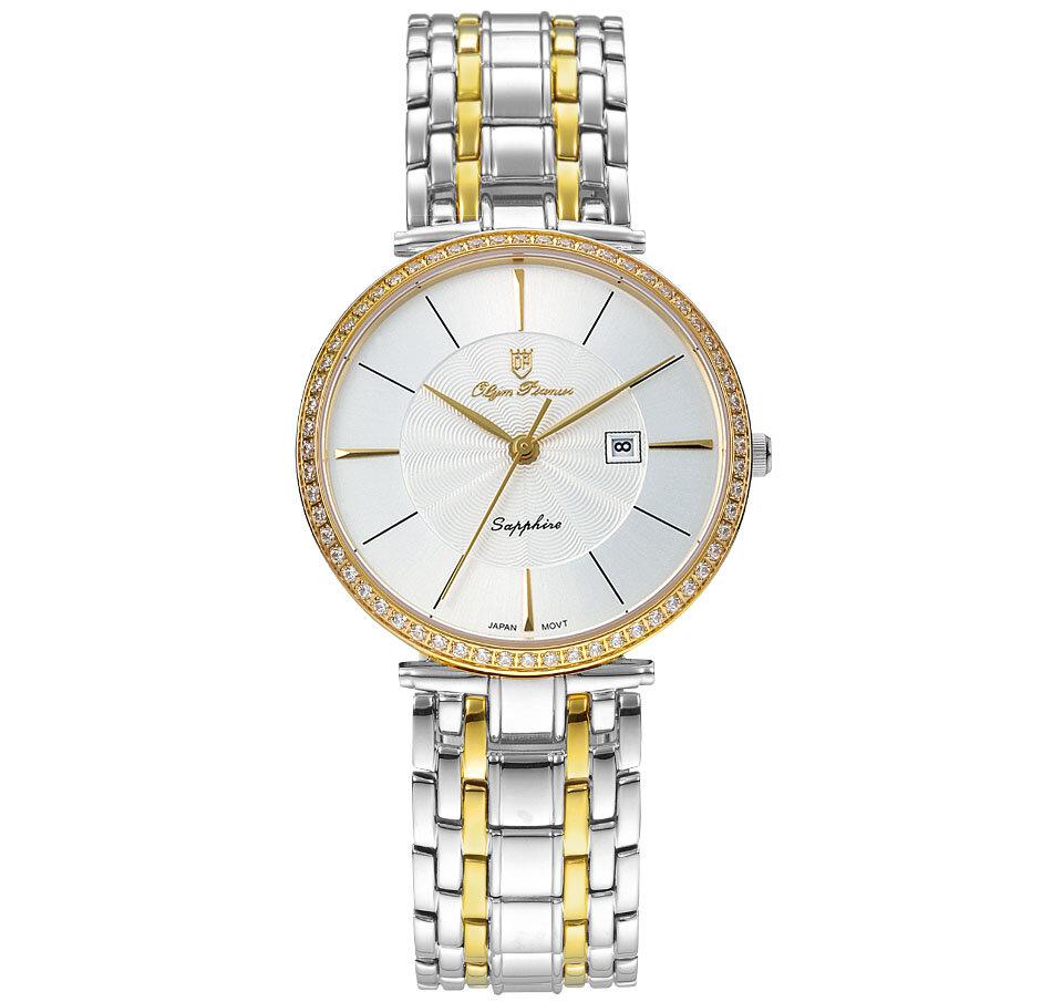 Đồng hồ nam Olympia OP5657DMSK - Màu trắng, vàng
