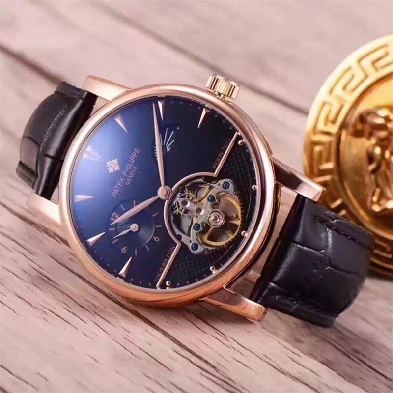 Đồng hồ nam Patek Philippe Tourbillon Automatic P.P176Au