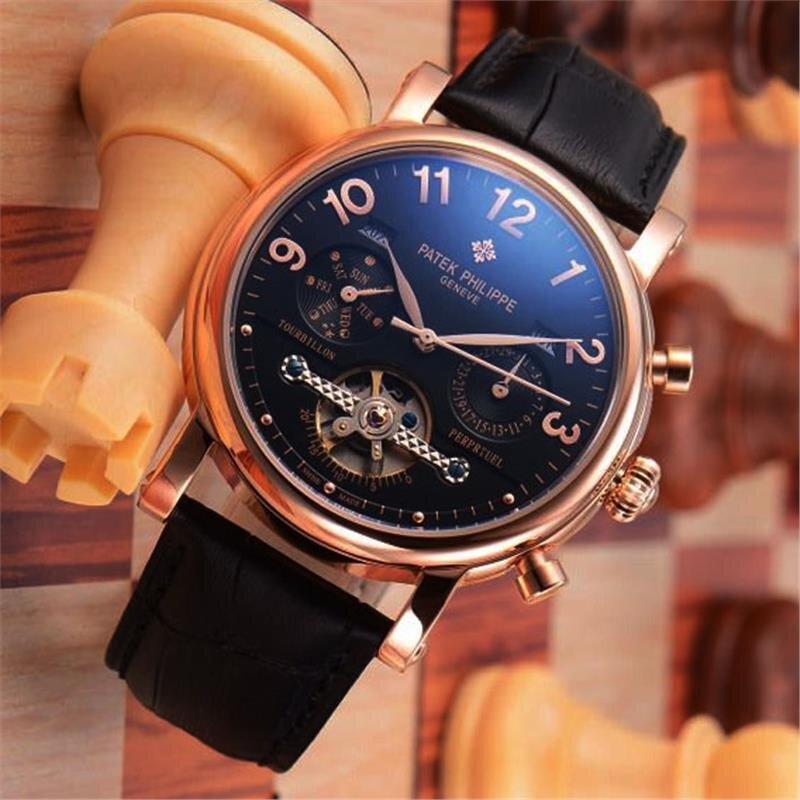 Đồng hồ nam Patek Philippe Automatic Tourbillon P.P405
