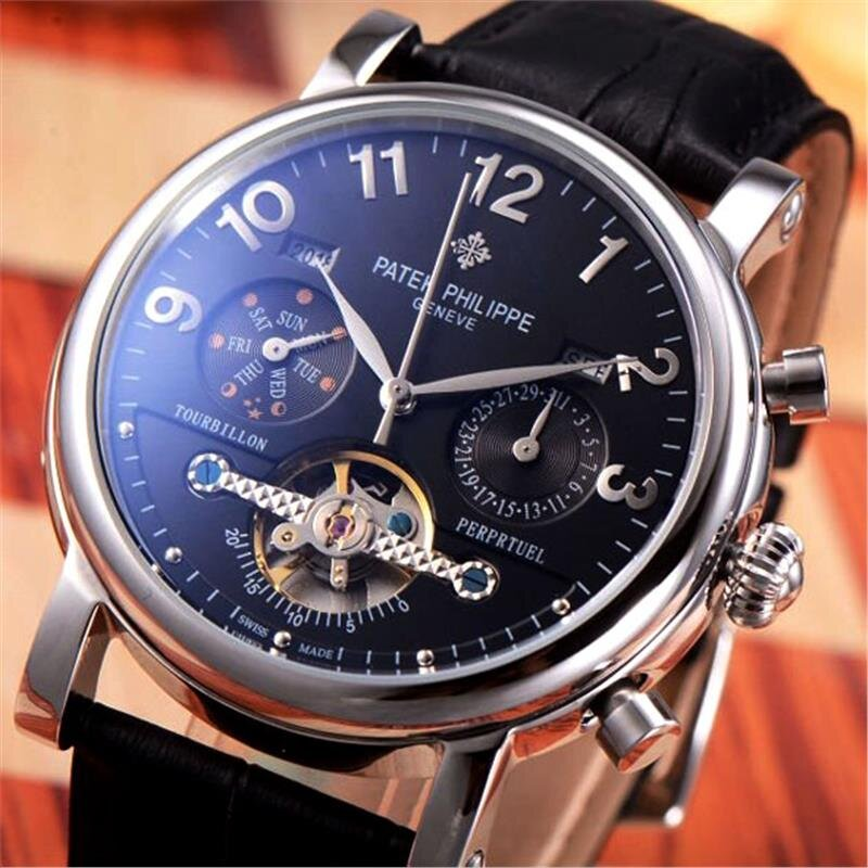 Đồng hồ nam Patek Philippe Automatic Tourbillon P.P406