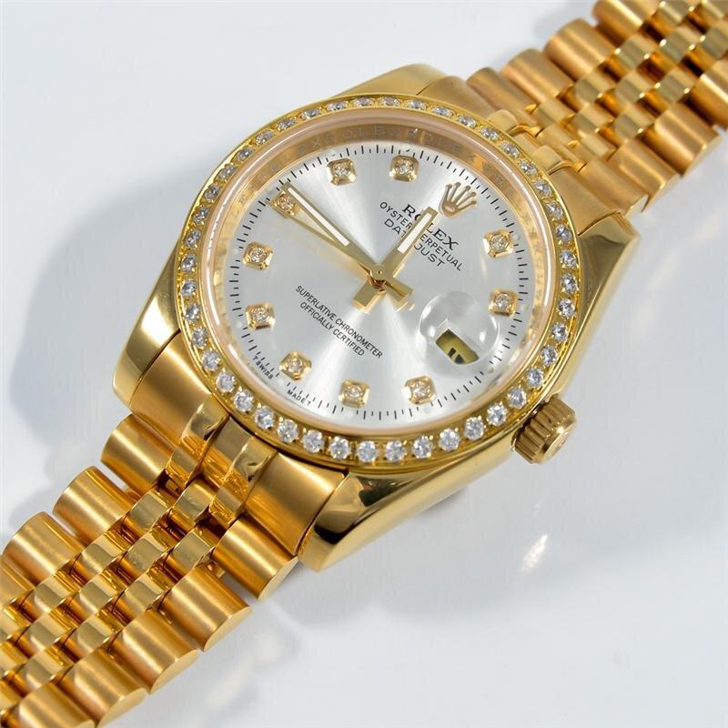 Đồng hồ nam Rolex DayDate Automatic Diamond R.L181