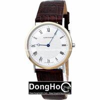 Đồng hồ nam Romanson TL5110MGWH - màu BK/ WH