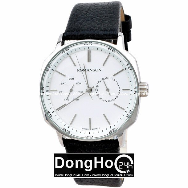 Đồng hồ nam Romanson TL1204BMWWH
