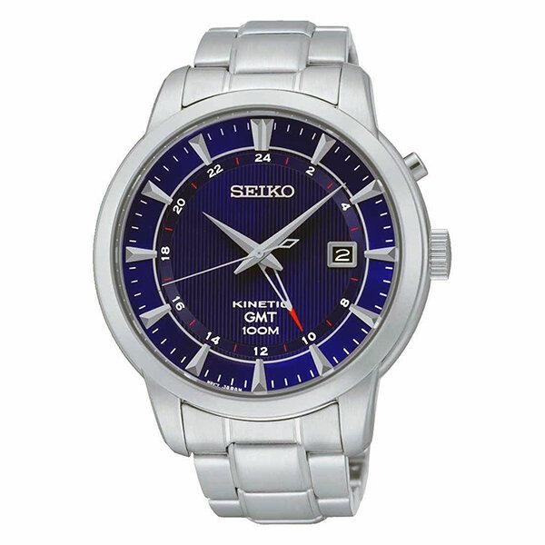 Đồng hồ nam Seiko Kinetic GMT SUN031P1