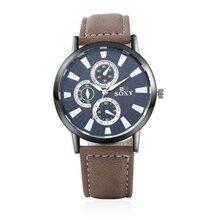 Đồng hồ nam Soxy 001 - dây da