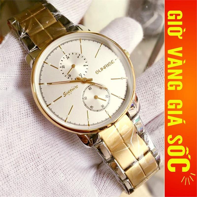 Đồng hồ nam Sunrise Sport DM747SWA-7SG