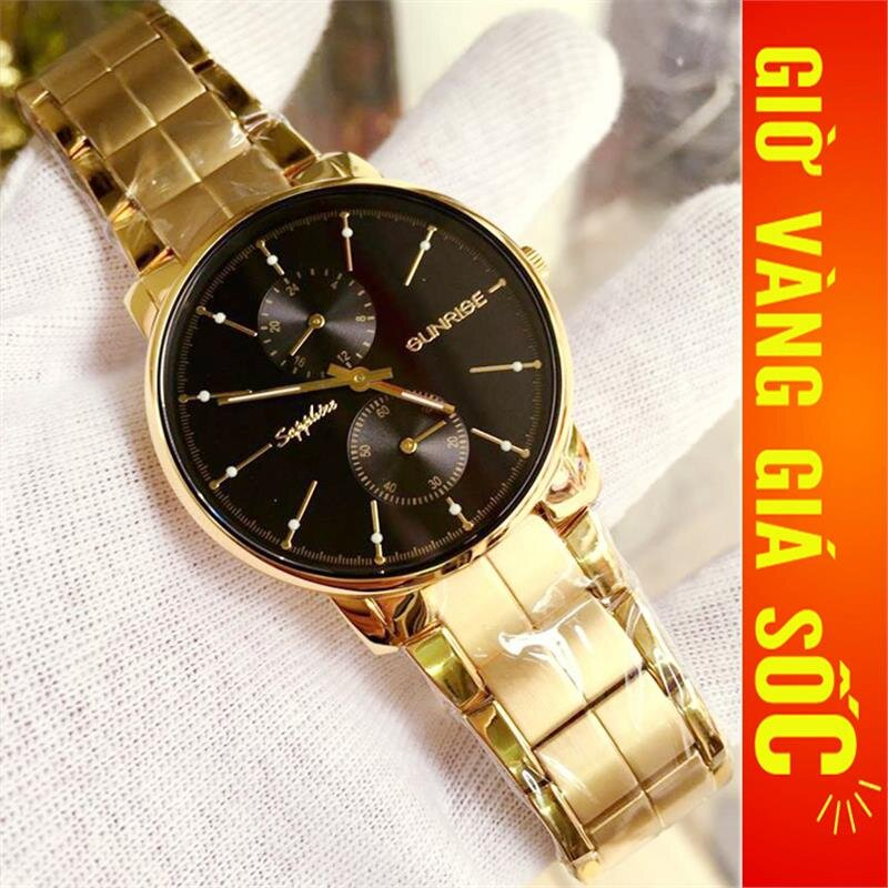Đồng hồ nam Sunrise Sport DM747SWA-1FG