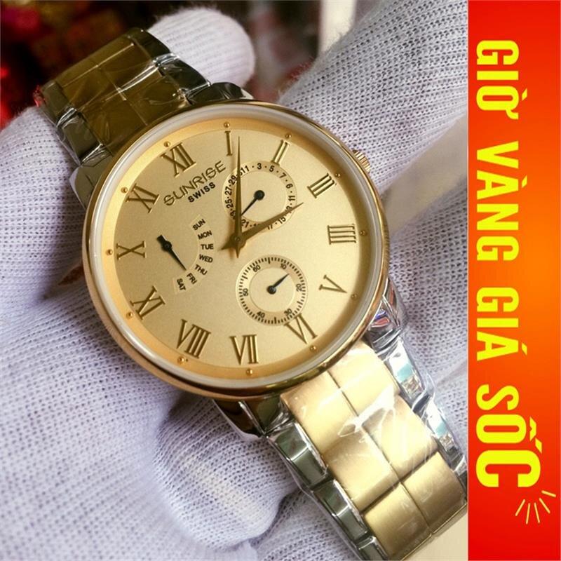 Đồng hồ nam Sunrise Sport DM747SWA-9SG