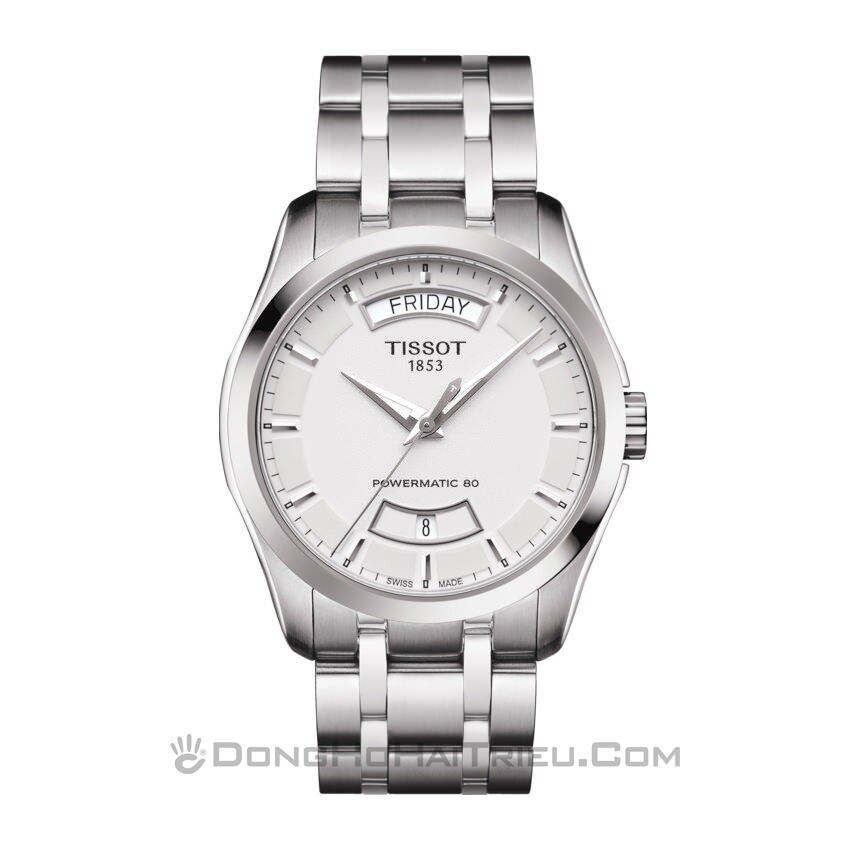 Đồng hồ nam Tissot T035.407.11.031.01 - dây da