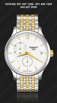 Đồng hồ nam Tissot T063.639.22.037.00 - dây kim loại