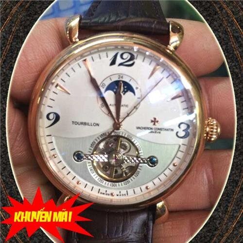 Đồng hồ nam Vacheron Constantin Tourbillon Automatic V.C199