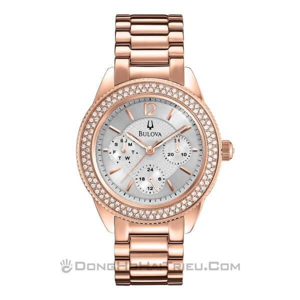 Đồng hồ nữ Bulova 97N101 – Dây Kim Loại