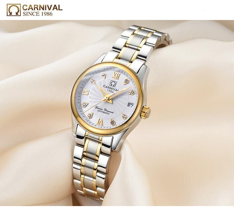 Đồng hồ nữ Carnival L18301.101.616