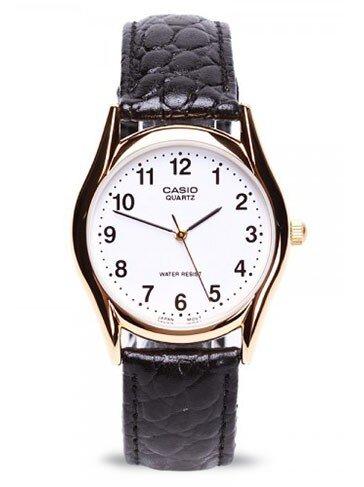 Đồng hồ nữ Casio dây da màu đen LTP-1094Q-7B1