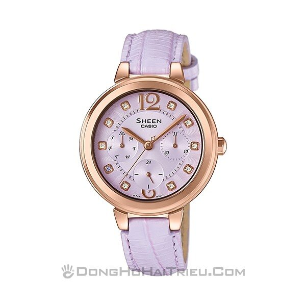 Đồng hồ nữ Casio SHE-3048PGL