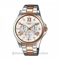 Đồng hồ nữ Casio SHE-3806SPG – Dây Kim Loại