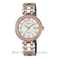 Đồng hồ nữ Casio SHE-4034BSG - dây kim loại