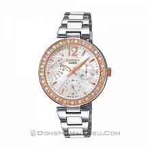 Đồng hồ nữ casio Sheen SHE-3042SG – Dây Kim Loại