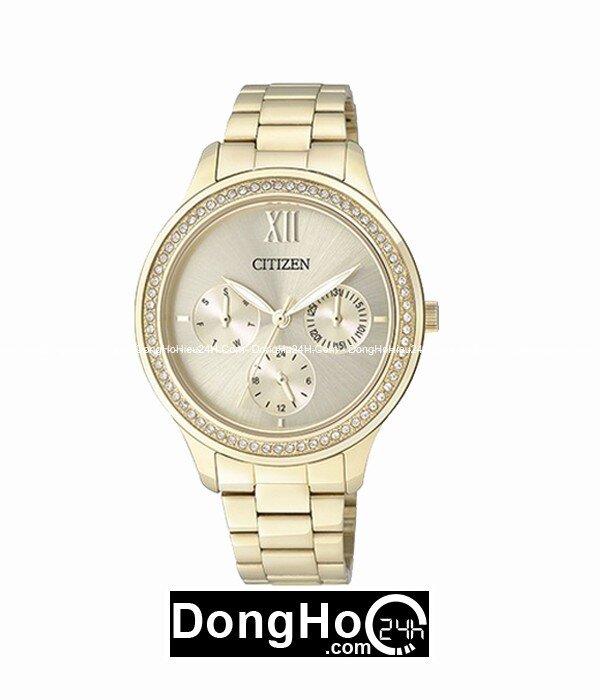 Đồng hồ nữ Citizen ED8152-58P - dây kim loại