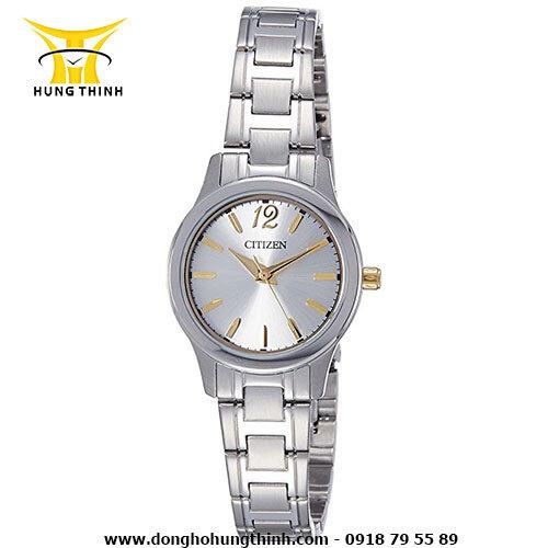 Đồng hồ nữ Citizen EL3038 – Dây Kim Loại