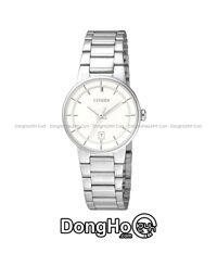 Đồng hồ nữ Citizen EU6010 - dây kim loại
