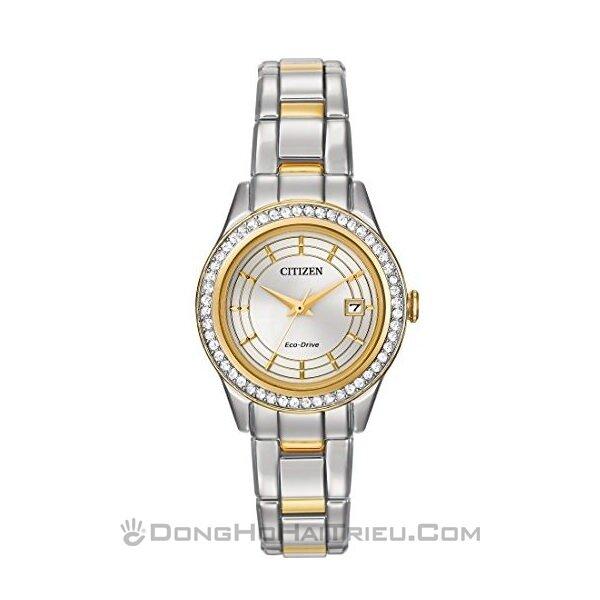 Đồng hồ nữ Citizen FE1124 – Dây Kim Loại