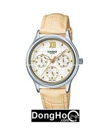 Đồng hồ nữ dây da Casio LTP-E306L- màu 4A, 7A