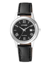 Đồng hồ nữ dây da Citizen Eco-Drive FE1081-08E