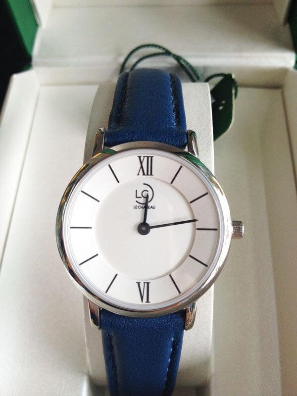 Đồng hồ nữ dây da Le chateau Quartz L01.196.02.6.1 - màu 02/ 04