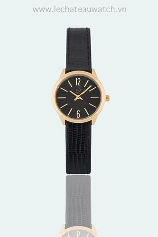 Đồng hồ nữ dây da Le chateau Quartz L39.112.04.5.1