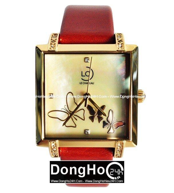 Đồng hồ nữ dây da Le Chateau Quartz L36.691.34.5.1