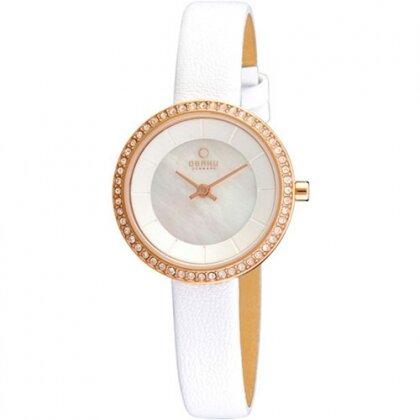 Đồng hồ nữ dây da OBAKU V146LVWRW2
