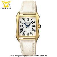Đồng hồ nữ dây da Seiko SXGP24P1