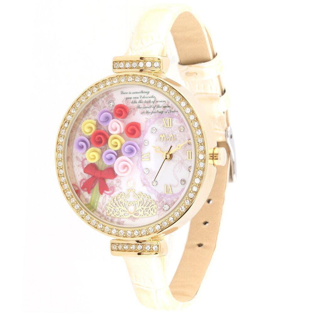 Đồng hồ nữ dây da TSG MI022