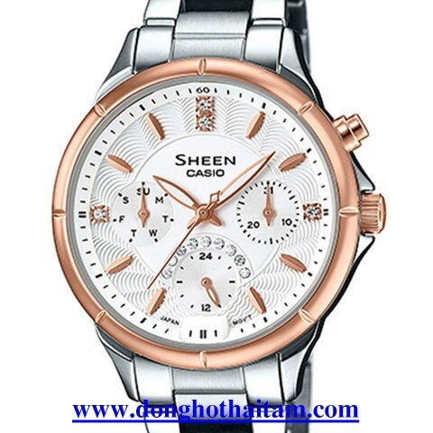Đồng hồ nữ dây kim loại Casio SHE-3047SG