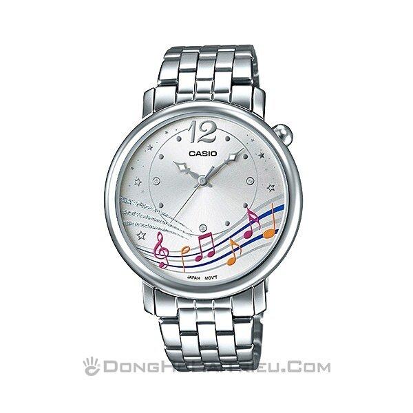 Đồng hồ nữ dây kim loại casio LTP-E123D