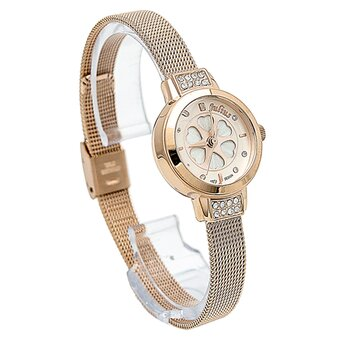 Đồng hồ nữ dây kim loại Julius JU1030