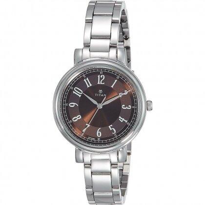 Đồng hồ nữ dây kim loại Titan 2554SM02