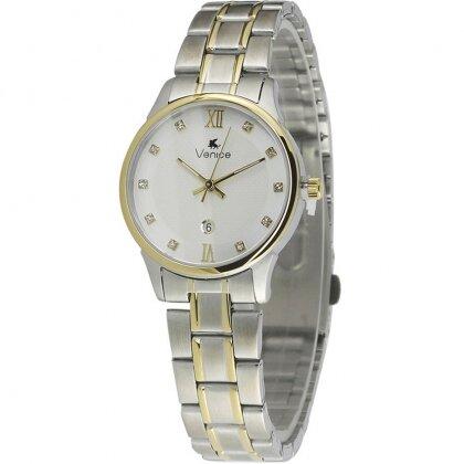 Đồng hồ nữ dây kim loại Venice C2456SLDACSA