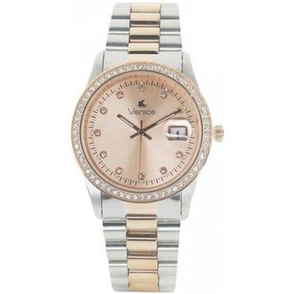 Đồng hồ nữ dây kim loại Venice C2502SLDAVSA