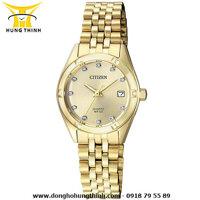 Đồng hồ nữ dây kim loại Citizen EU6052